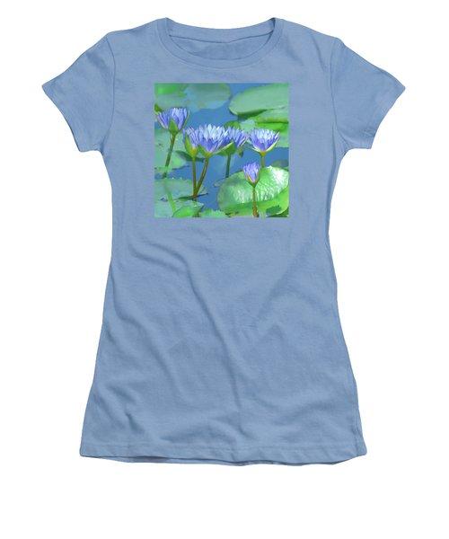 Silken Lilies Women's T-Shirt (Junior Cut)