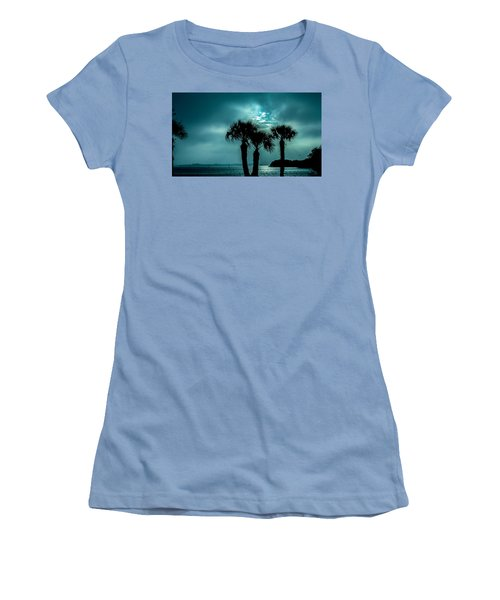Some Kind Of Blue Women's T-Shirt (Athletic Fit)