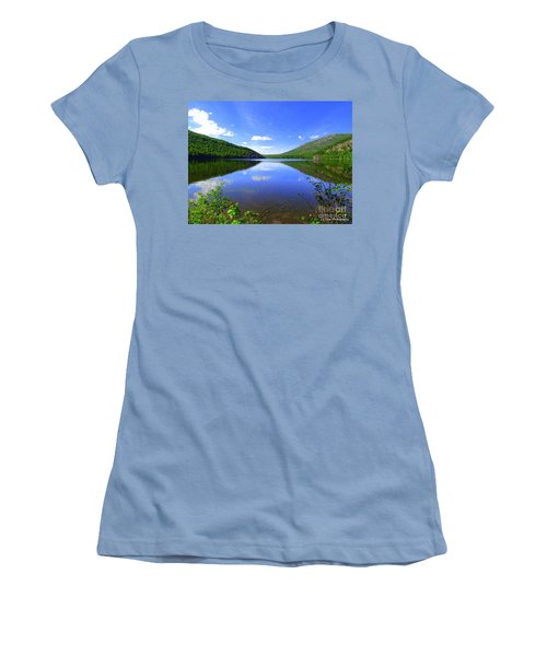 South Branch Pond Women's T-Shirt (Athletic Fit)