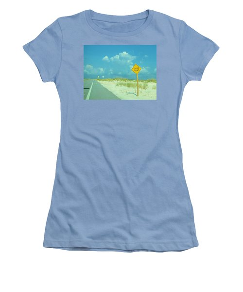 Speed Hump Women's T-Shirt (Athletic Fit)