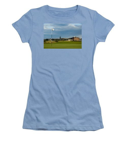 St Andrews Golf Women's T-Shirt (Junior Cut) by Jeremy Voisey