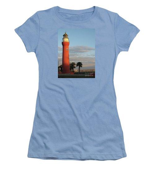 St. Johns River Lighthouse II Women's T-Shirt (Junior Cut) by Christiane Schulze Art And Photography