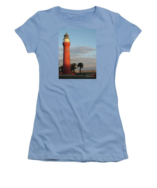 St. Johns River Lighthouse II Women's T-Shirt (Athletic Fit)