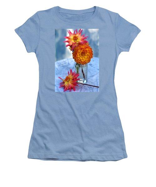 Starfire Women's T-Shirt (Junior Cut) by Jeanette C Landstrom