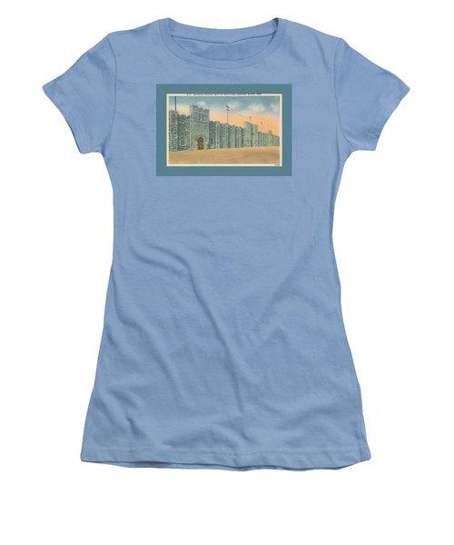 Stone Castle Bristol Tn Built By Wpa Women's T-Shirt (Athletic Fit)