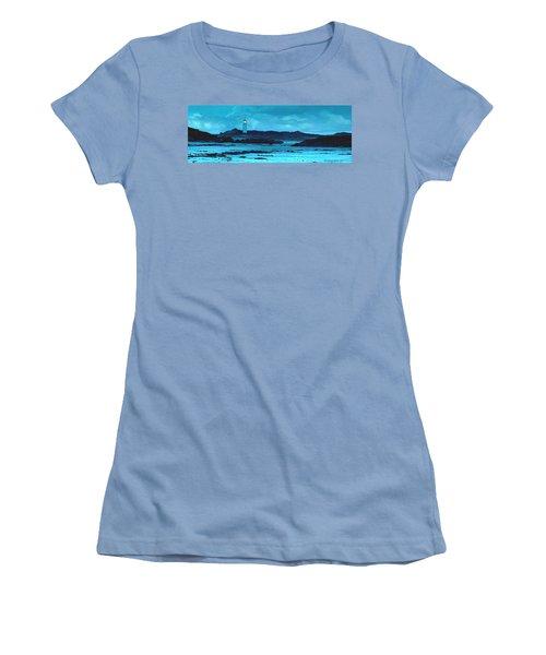 Storm's Brewing Women's T-Shirt (Junior Cut) by Sophia Schmierer