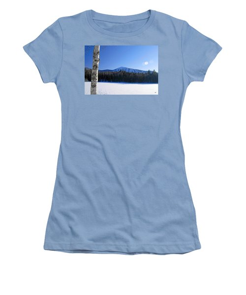 Women's T-Shirt (Junior Cut) featuring the photograph Sugarloaf Usa by Alana Ranney