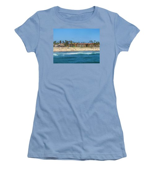 Women's T-Shirt (Junior Cut) featuring the photograph Summertime by Tammy Espino