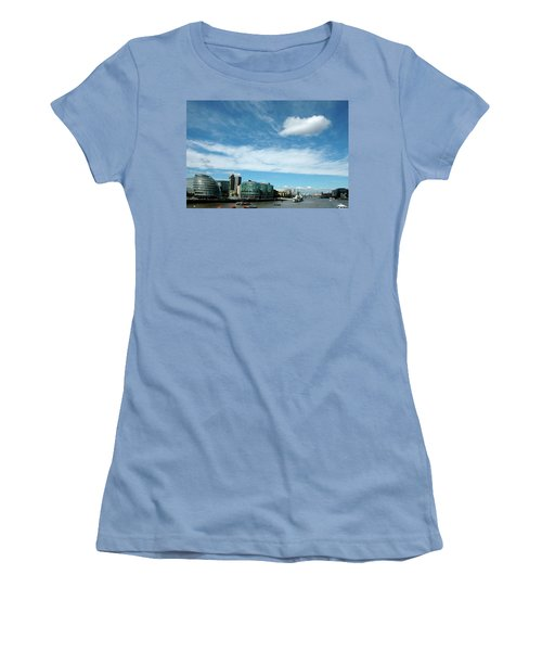 Women's T-Shirt (Junior Cut) featuring the photograph Sunny Day London by Jonah  Anderson