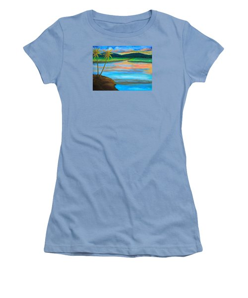 Sunset  Women's T-Shirt (Junior Cut) by Lorna Maza