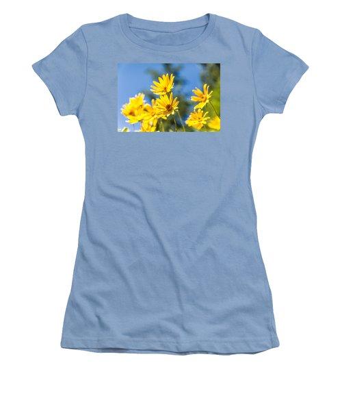Sunshine Women's T-Shirt (Junior Cut) by Chad Dutson