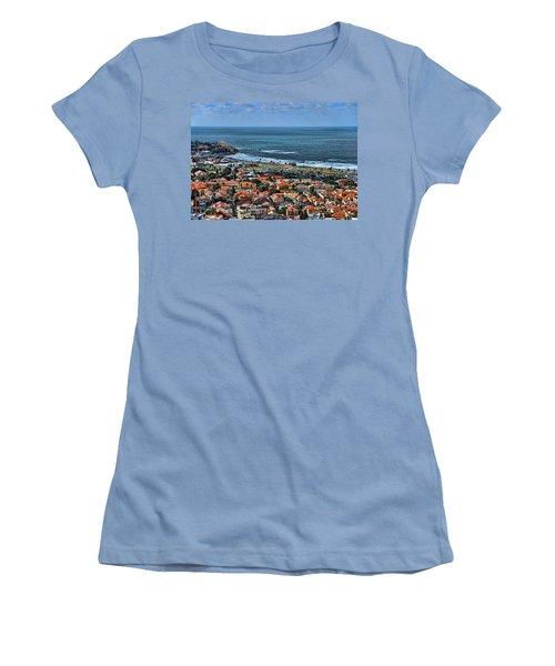 Women's T-Shirt (Junior Cut) featuring the photograph Tel Aviv Spring Time by Ron Shoshani
