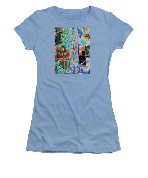 The Beauty Of Steel Women's T-Shirt (Athletic Fit)