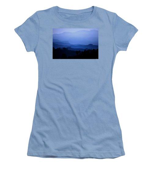 The Blue Hills Women's T-Shirt (Junior Cut) by Matt Harang