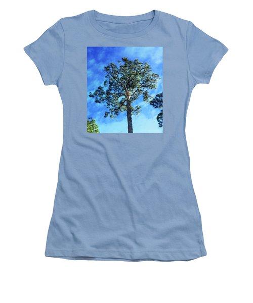 The Guardian Of The Graveyard Women's T-Shirt (Junior Cut) by Carlos Avila