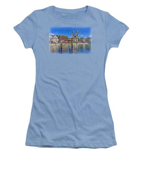 The Limmat City Women's T-Shirt (Junior Cut)