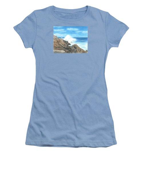 The Marginal Way Women's T-Shirt (Junior Cut) by Troy Levesque