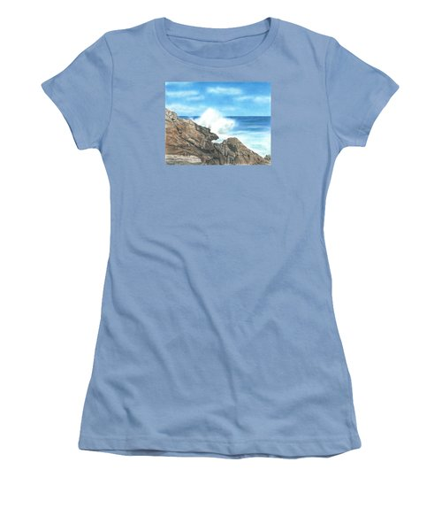 The Marginal Way Women's T-Shirt (Athletic Fit)