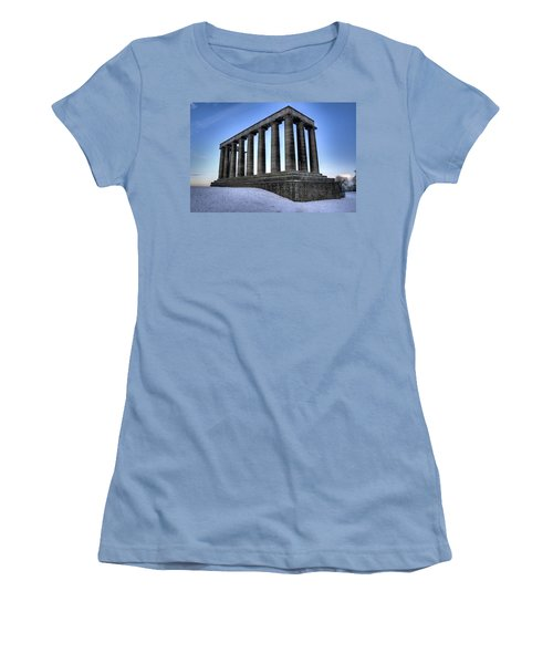The National Monument Women's T-Shirt (Athletic Fit)