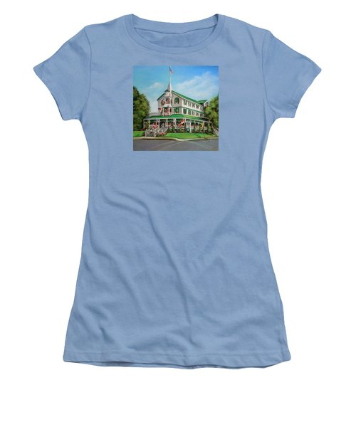 The Parker House Women's T-Shirt (Junior Cut) by Melinda Saminski