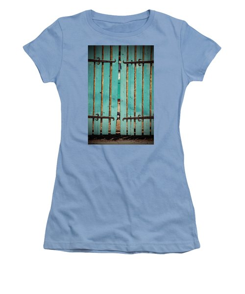 The Turquoise Gate Women's T-Shirt (Athletic Fit)