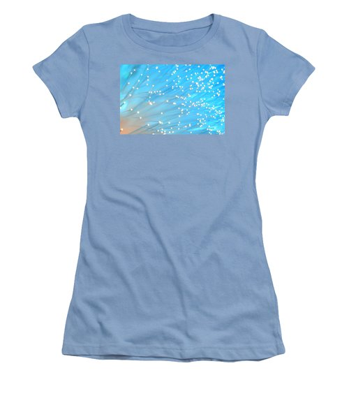 Women's T-Shirt (Junior Cut) featuring the photograph The Wind by Dazzle Zazz