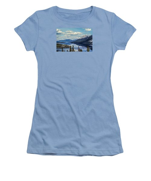 The Yukon Women's T-Shirt (Junior Cut) by Suzanne Luft