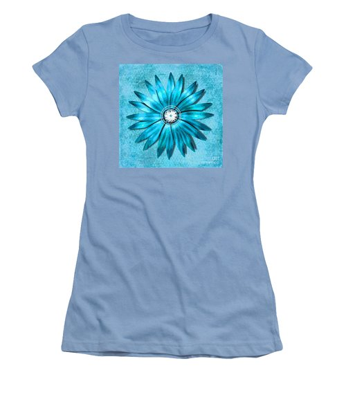 Tiffany Blue And Diamonds Too Women's T-Shirt (Junior Cut) by Saundra Myles