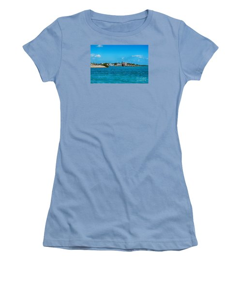 Tiki Bar Islamorada Women's T-Shirt (Athletic Fit)