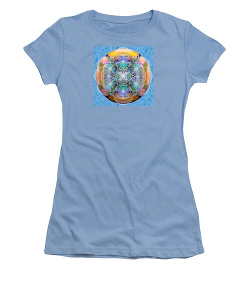 Torusphere Synthesis Cell Firing Soulin IIi Women's T-Shirt (Junior Cut) by Christopher Pringer