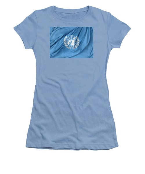 United Nations Women's T-Shirt (Junior Cut) by Les Cunliffe