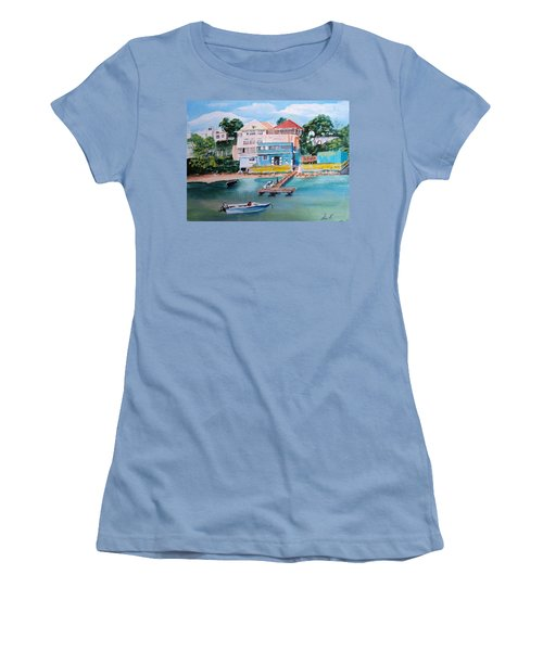 Vieques Puerto Rico Women's T-Shirt (Athletic Fit)