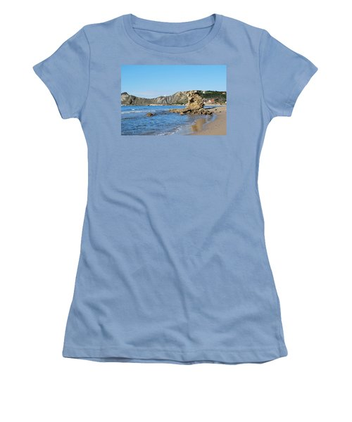 Women's T-Shirt (Junior Cut) featuring the photograph Vouno 2 by George Katechis