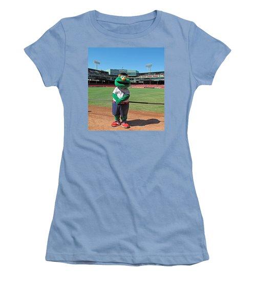 Wally Women's T-Shirt (Junior Cut) by Barbara McDevitt