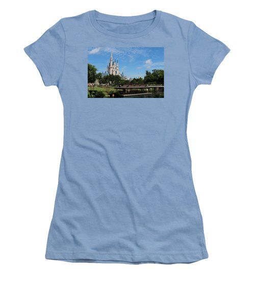 Walt Disney World Orlando Women's T-Shirt (Athletic Fit)