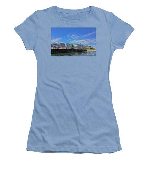 Water Street Block Island Women's T-Shirt (Junior Cut) by Todd Breitling