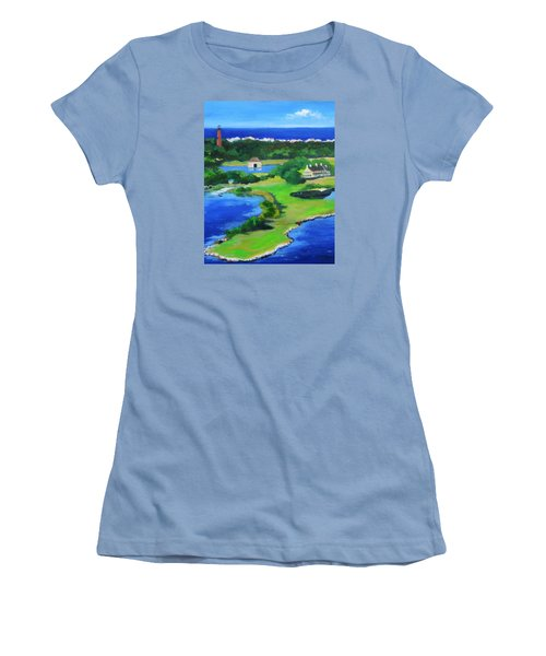 Whalehead Overview Women's T-Shirt (Athletic Fit)
