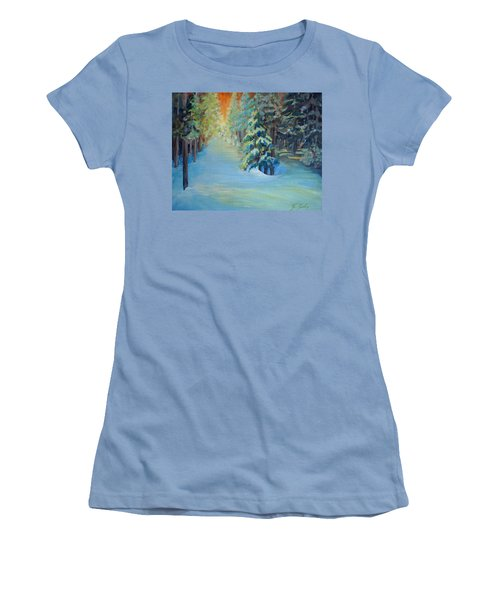 A Road Less Travelled Women's T-Shirt (Athletic Fit)
