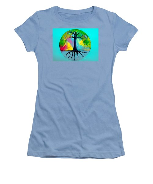 Wishing Tree Women's T-Shirt (Athletic Fit)