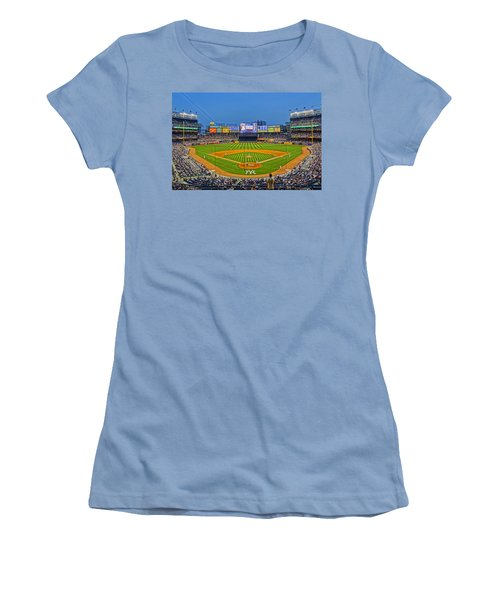 Yankee Stadium Women's T-Shirt (Junior Cut) by Jeffrey Friedkin