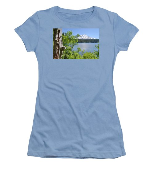 Mount Adams Women's T-Shirt (Athletic Fit)