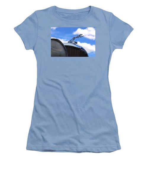 Women's T-Shirt (Junior Cut) featuring the photograph 1932 Lincoln Kb Brunn Phaeton by Gordon Dean II