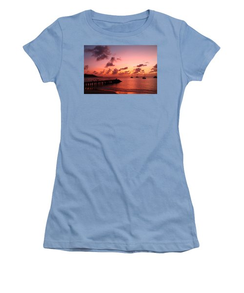 Sunset Women's T-Shirt (Athletic Fit)