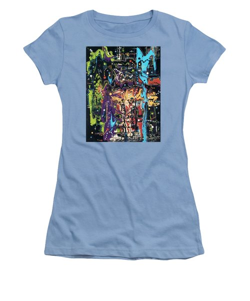 A Market In Nairobi Women's T-Shirt (Athletic Fit)