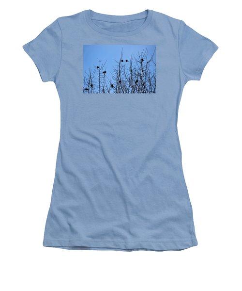 Circle Of Friends Women's T-Shirt (Junior Cut) by Kume Bryant