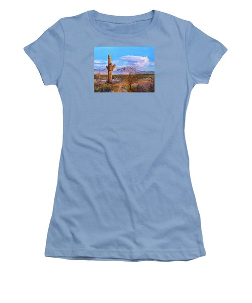 Desert Scene 4 Women's T-Shirt (Junior Cut) by M Diane Bonaparte