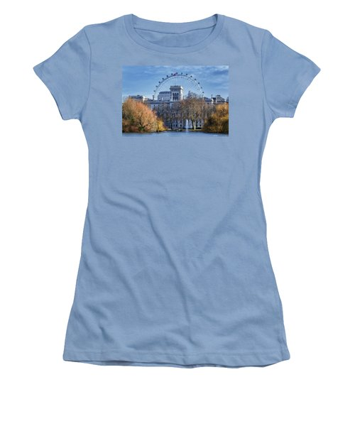 Eyeing The View Women's T-Shirt (Athletic Fit)