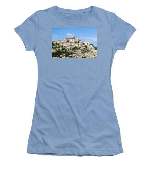 Gordes In Provence Women's T-Shirt (Junior Cut) by Carla Parris