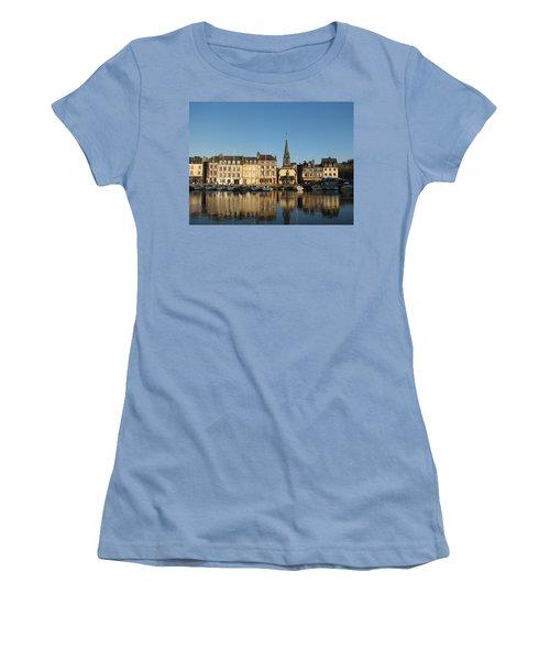 Honfleur  Women's T-Shirt (Junior Cut) by Carla Parris
