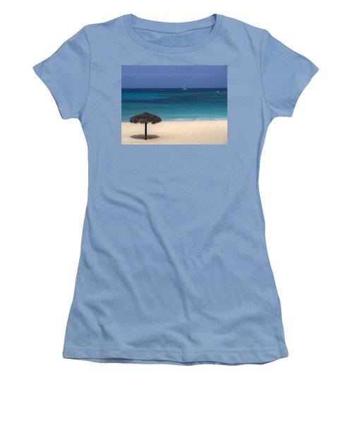 Women's T-Shirt (Junior Cut) featuring the photograph Idyllic Day by Lynn Bolt
